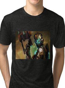 Dead Space - Isaac Clarke Concept Art Screen Tri-blend T-Shirt