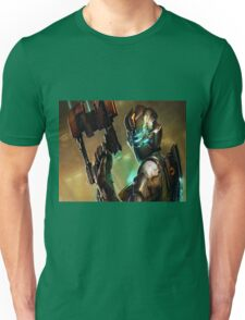 Dead Space - Isaac Clarke Concept Art Screen Unisex T-Shirt