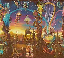 """Dawn in the Garden of Creation"" by James McCarthy"