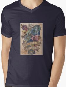 Come Hell or High Water Mens V-Neck T-Shirt