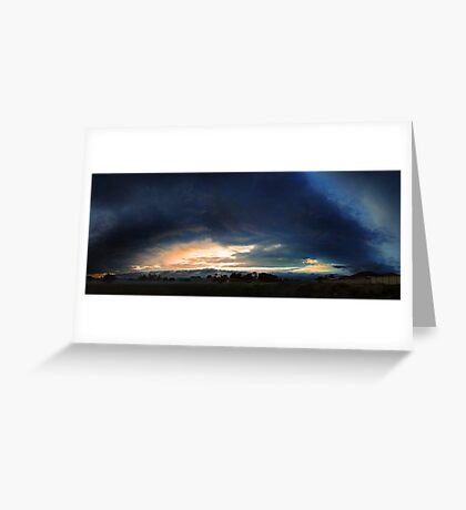 Severe Thunderstorm - December 13 2012  Greeting Card