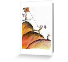 Kite Greeting Card