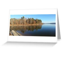 Not a creature was stirring not even a ripple.... Greeting Card