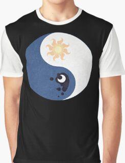 Celestia and Luna Yin Yang Graphic T-Shirt