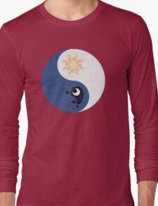 Celestia and Luna Yin Yang Long Sleeve T-Shirt