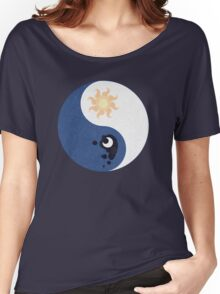 Celestia and Luna Yin Yang Women's Relaxed Fit T-Shirt