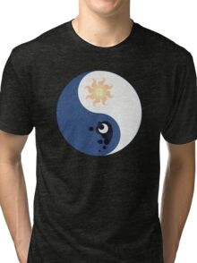 Celestia and Luna Yin Yang Tri-blend T-Shirt