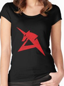 Red Unicorn Women's Fitted Scoop T-Shirt