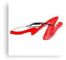 Supercar Canvas Print