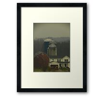 Election Day 2012: Rural Red, White, and Blue Framed Print