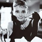 BREAKFAST AT TIFFANY'S audrey hepburn by mellycattt
