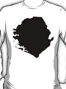 Sierra Leone Silhouette T-Shirt