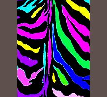 """Digital Zebra Multicolor"" Unisex T-Shirt"