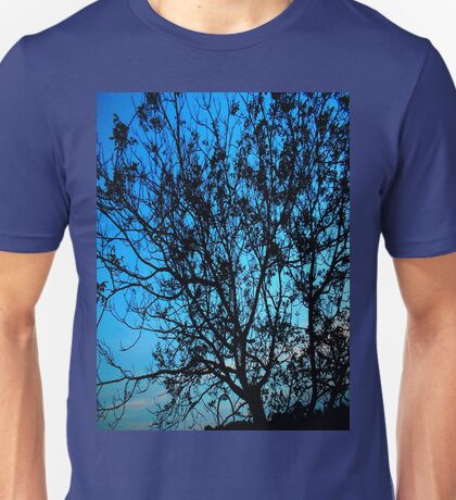 """""""Trees with Blue Sky"""" Unisex T-Shirt"""