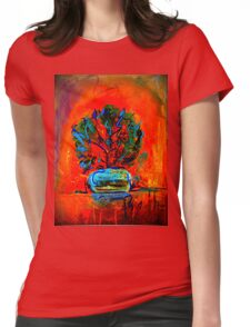 """Beth's Flowers 2 - Digital""  Womens Fitted T-Shirt"