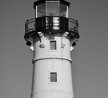 Duluth Harbor North Breakwater Lighthouse 2  by Robert Meyers-Lussier