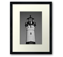 Duluth Harbor North Breakwater Lighthouse 2  Framed Print