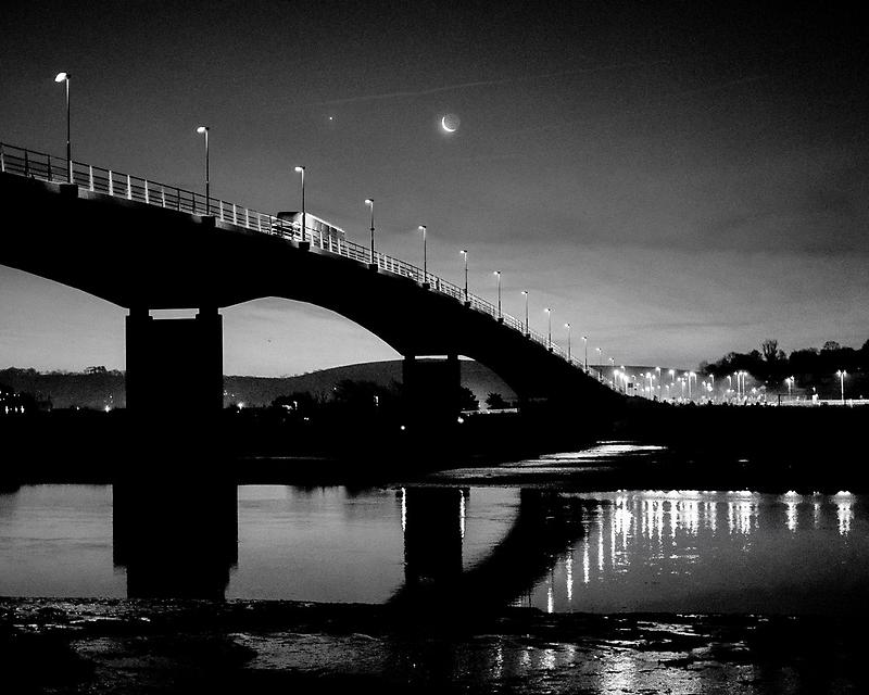 Barnstaple bridge by John Burtoft