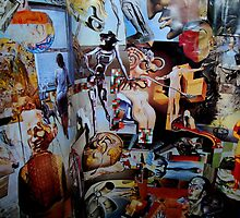 Dali Collage. by Andrew Nawroski