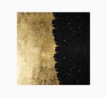 Faux Gold & Black Starry Night Brushstrokes Classic T-Shirt