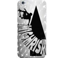 HIGHRISk Skate iPhone Case/Skin