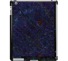 USGS TOPO Map New Hampshire NH Baxter Lake 329478 1987 24000 Inverted iPad Case/Skin