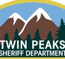 Twin Peaks Sheriff Department Sticker