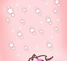 Sakura neko by Elizabeth Escalera