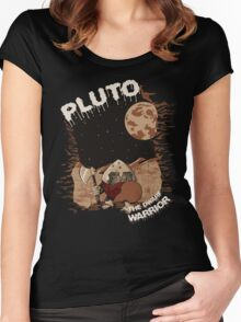 Pluto the Dwarf Women's Fitted Scoop T-Shirt