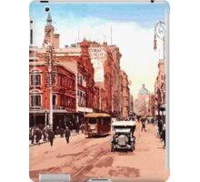Sydney history, George Street around 1900 iPad Case/Skin