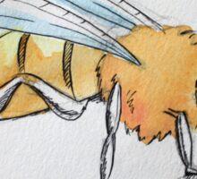 Watercolour Bee Sticker