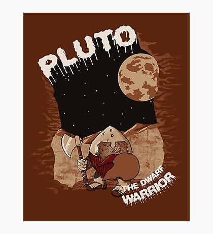 Pluto the Dwarf Photographic Print