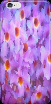 Purple Flowers by kahoutek24