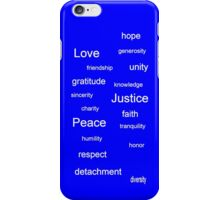 Justice - Azure iPhone Case/Skin