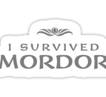 I Survived Mordor Sticker