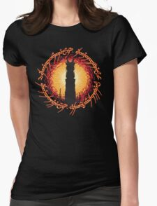 Barad Dur - Always Watching, Never Sleeping Womens Fitted T-Shirt