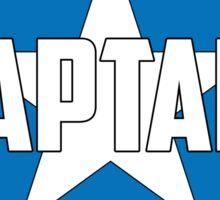 Team Captain America Sticker
