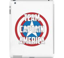 Team Captain America iPad Case/Skin