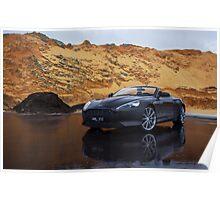 Aston Martin Virage Volante Poster