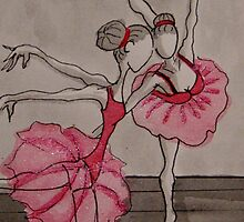 Ballerina girls by Ambe