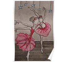 Ballerina girls Poster