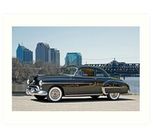 1950 Oldsmobile Rocket 88 Art Print