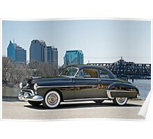1950 Oldsmobile Rocket 88 Poster