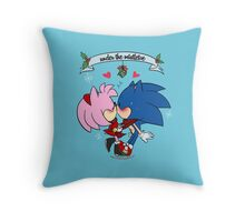 Christmas: Under the Mistletoe Throw Pillow