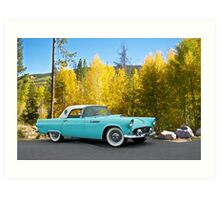 1956 Ford Thunderbird Art Print