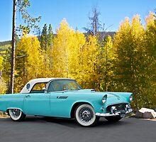 1956 Ford Thunderbird by DaveKoontz