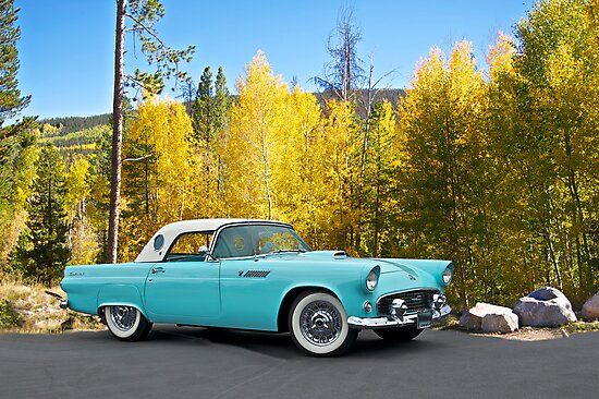 1956 Ford Thunderbird by DaveKoontz