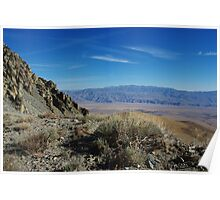 Onion Valley Road impression, California Poster