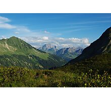 Scenery near Furkajoch, Austria Photographic Print