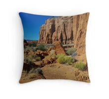 Kodachrome rocks, Utah Throw Pillow
